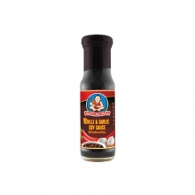 Healthy Boy - Sojasauce mit Chili & Knoblauch - 150 ml