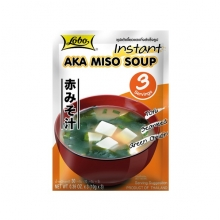 Lobo - Instant Aka Miso Suppe - 3 x 10g