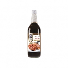 Thai Dancer - Sweet Chili Sauce - Black - perfekt zu rotem Fleisch - 730ml