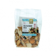 Golden Turtle - Reiscracker-Mix mit Seetang - Snack - 100g