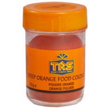 TRS - Lebensmittelfarbe - Pulver - ORANGE - Food colour - 25 g