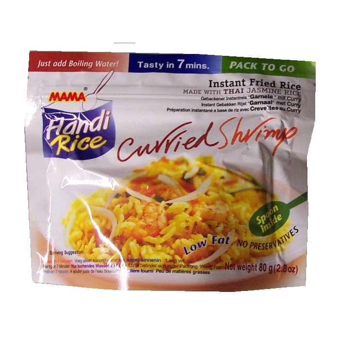 Handi Rice Thai Curried Shrimp - MAMA 80g