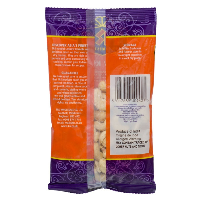 TRS - Cashewkerne - 100g