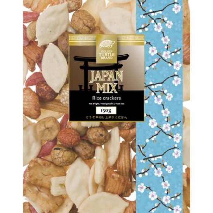 Reiscracker Mix aus Japan -- JAPAN MIX -- 150g