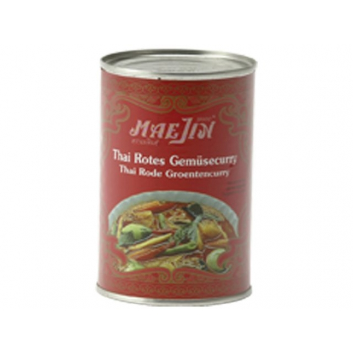 MaeJin - Thai rotes Gemüse Curry - 410 g