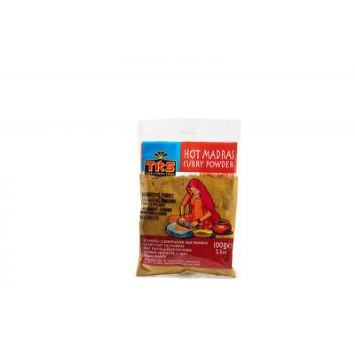 HOT Madras Curry Powder / Scharfes Currypulver aus Madras - TRS - 100g
