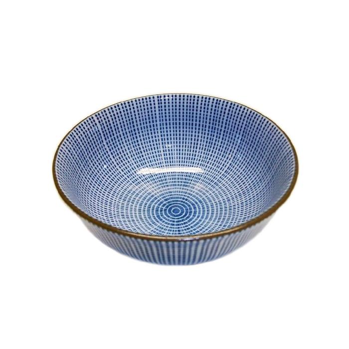 sch ssel porzellan wei blau punktmuster blau 12 cm dia auf www. Black Bedroom Furniture Sets. Home Design Ideas