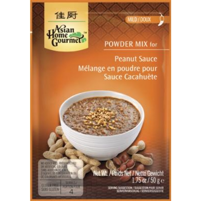 Asian Home Gourmet - Peanut Sauce Mix - Erdnusssaucen Mix - 50 g