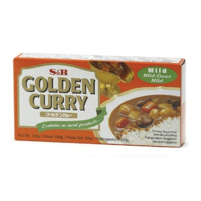 S&B - Golden Curry - Japanische Curry Paste - Saucen Basis - Mild - 100g