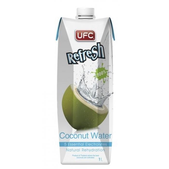 coconut water kokosnuss wasser 100 nat rlich ufc 1l. Black Bedroom Furniture Sets. Home Design Ideas