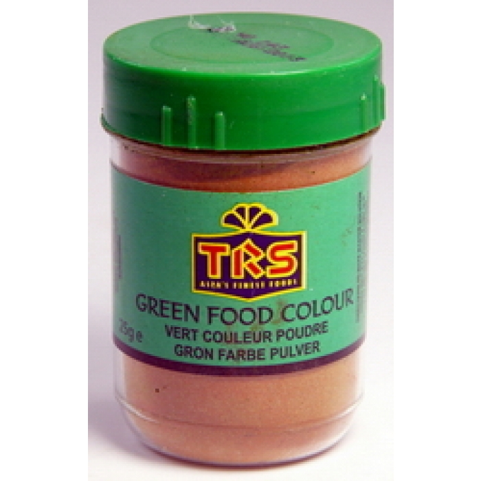 Lebensmittelfarbe - Pulver - GRÜN - Food colour TRS 25g