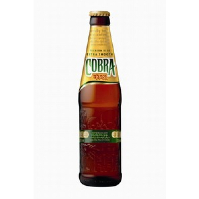 Cobra Bier - 330ml - Indien - 5% vol.