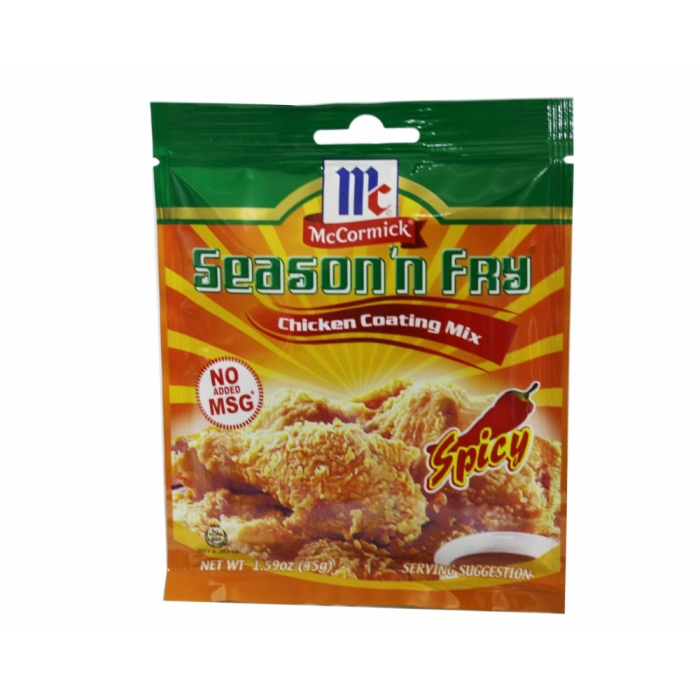 McCormick Season´n Fry - Chicken Coating Mix - Spicy 45g.