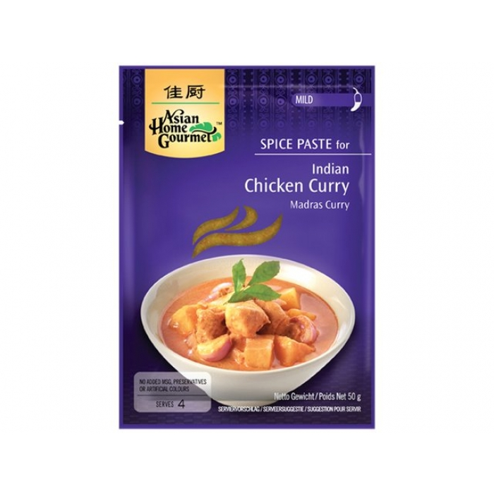 Indisches Chicken Curry - Gewürz Paste - AHG - 50g