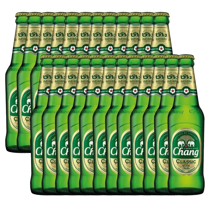 Chang Classic - Bier - 24 x 320ml - 5% vol. (1 Karton)