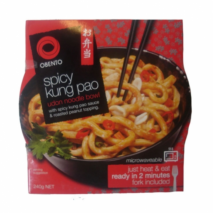 Udon Noodle Bowl - Spicy Kung Pao - Obento 240g