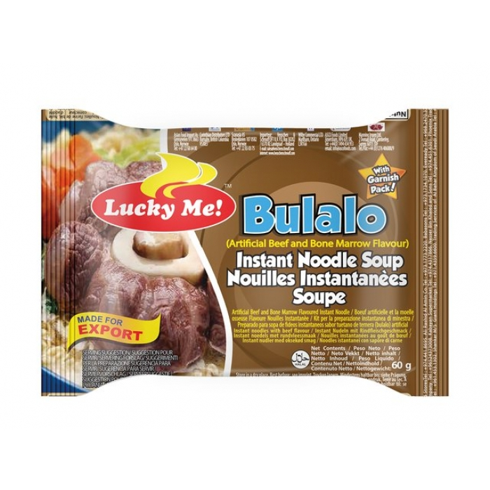 Lucky Me - Instant Nudelsuppe Bulalo Rind - 60g