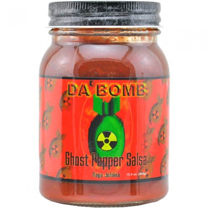 Da Bomb - Ghost Pepper Salsa - Stufe 7