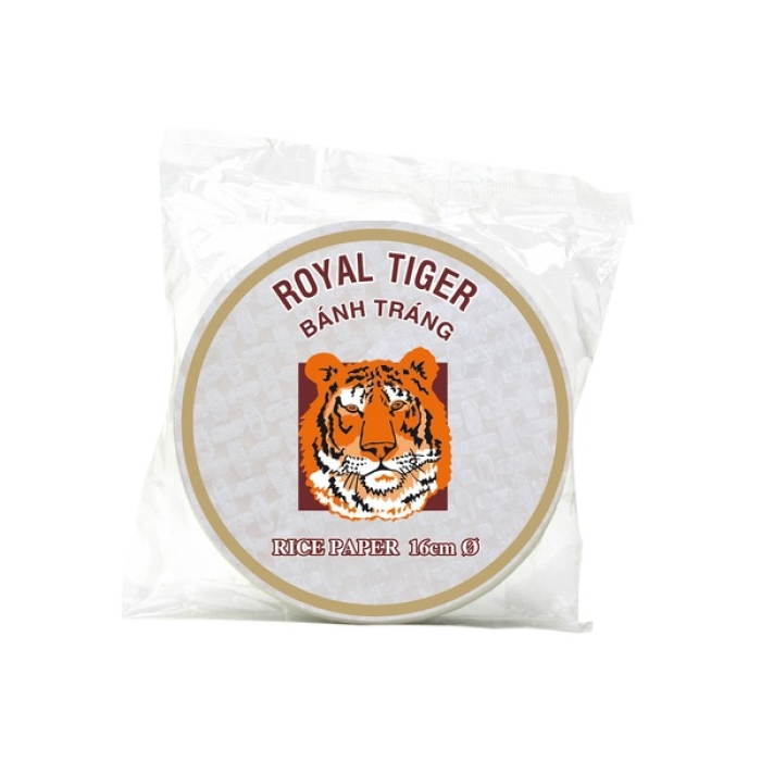 Royal Tiger - Reispapier rund - 16 cm - 500 g