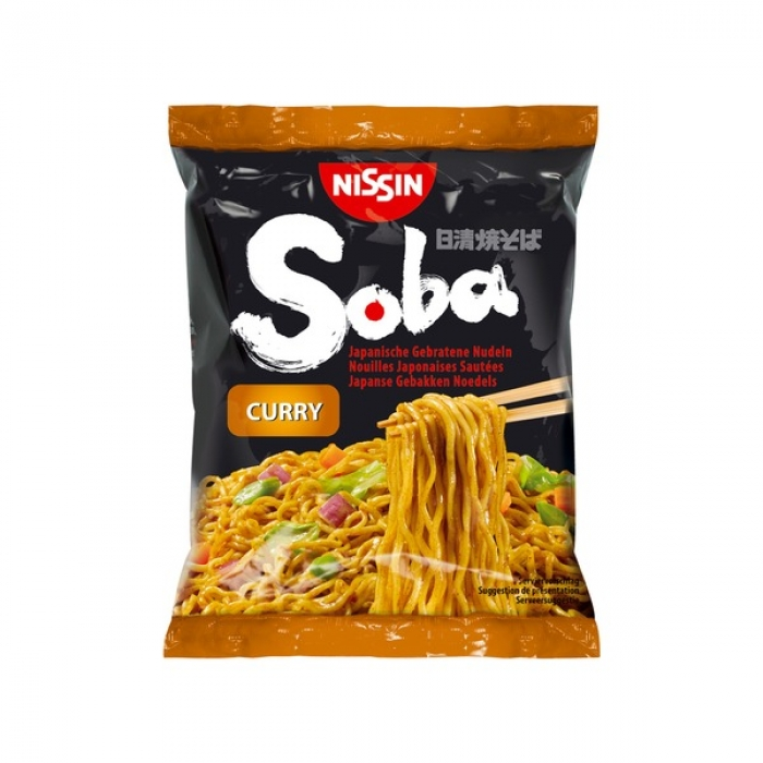 Nissin - Curry Soba Nudeln - 240g