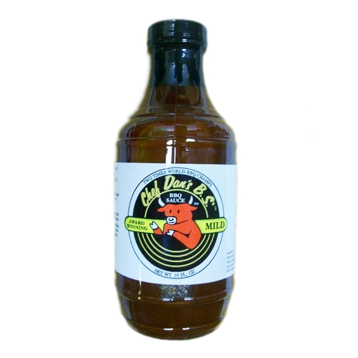 Chef Dan's Mild Barbeque Sauce 480ml