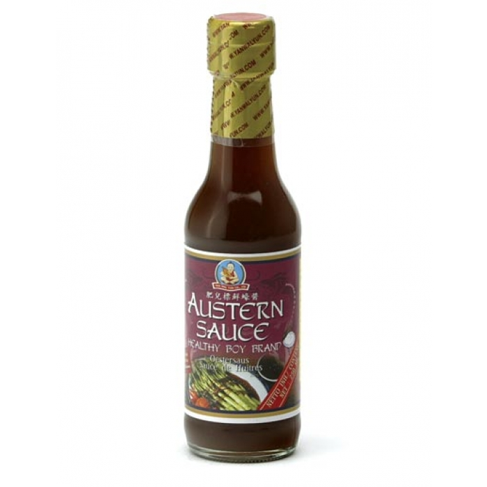 Healthy Boy - Austernsauce - Oyster Sauce - sehr delikat! - 250 ml
