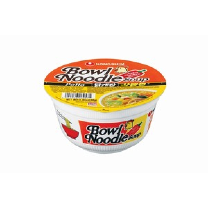 Instant Bowl Nudelsuppe - würziges Hühnchen NONGSHIM 86g