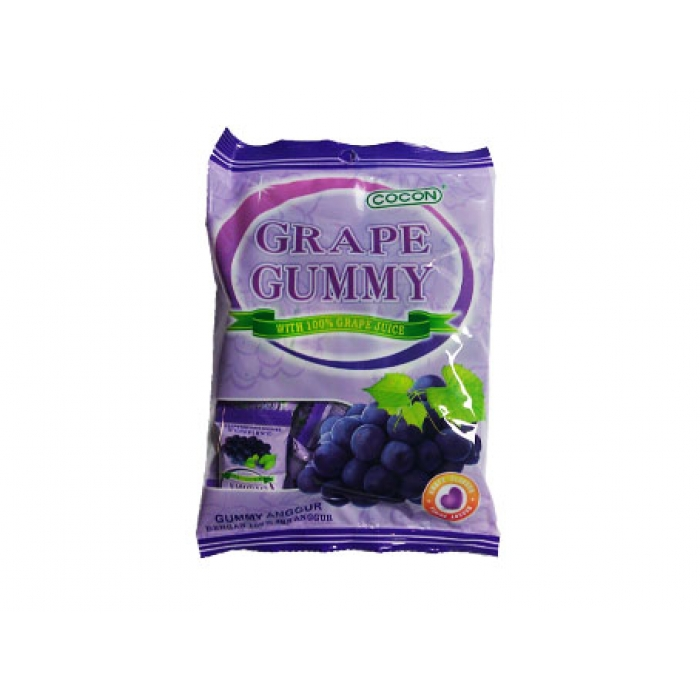 Grape Gummy - Weintrauben Fruchtgummies - Cocon 150g