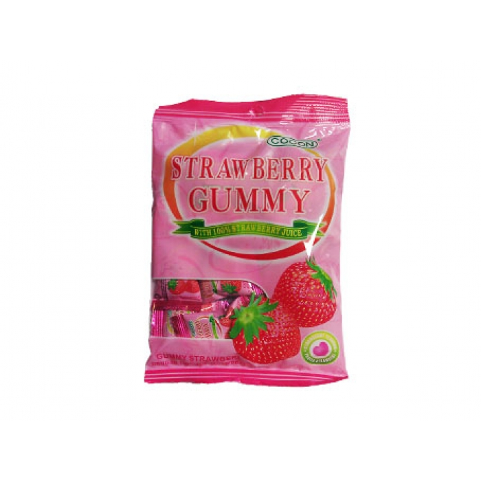 Strawberry Gummy - Erdbeer Fruchtgummies - Cocon 150g