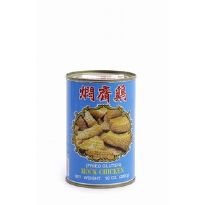 MOCK CHICKEN fried Gluten -- vegetarisches Huhn WU CHUNG 280g