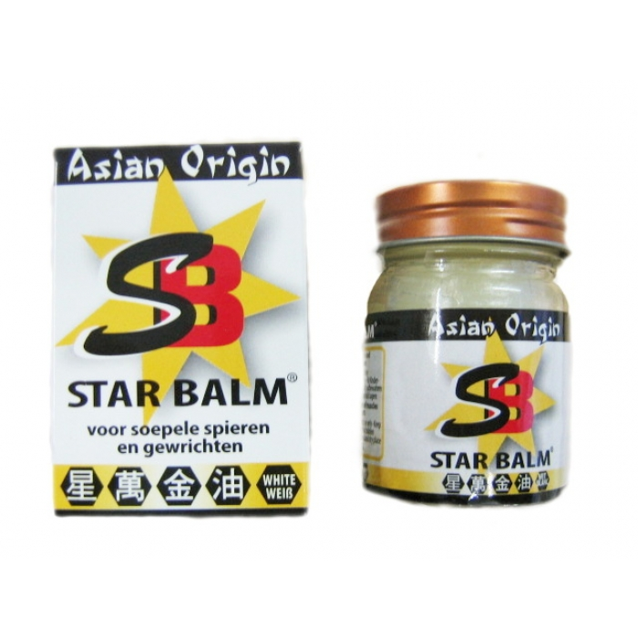China Balm - STAR BALSAM -- WEISS -- 25g