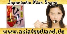 Japanische Miso Suppe - Hiruge - mittags - 6 Portionen